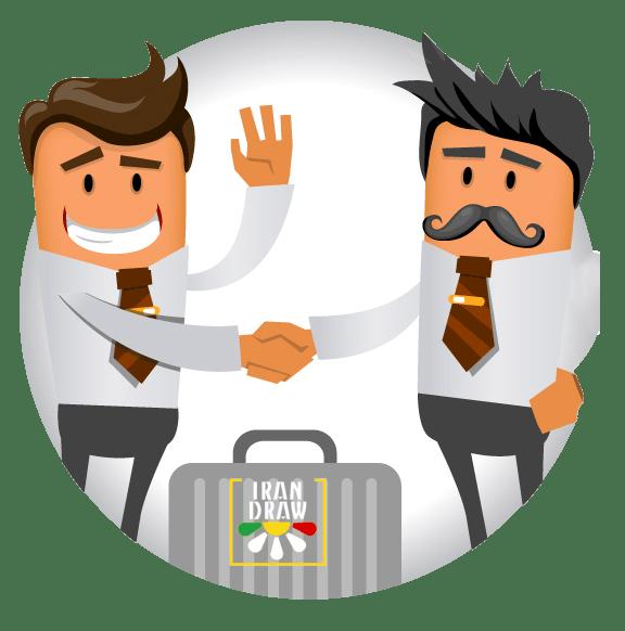 Online Support Shake Hand - تیکت و سیستم پشتیبانی