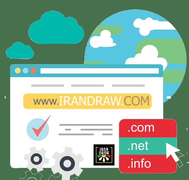 Domain top - دامنه ثبتی