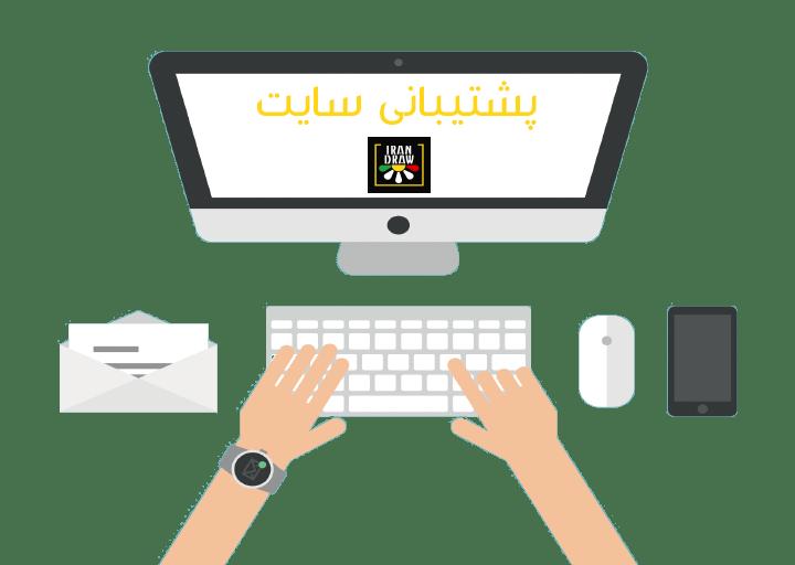 Support Website - پشتیبانی و نگهداری وب سایت و سرور